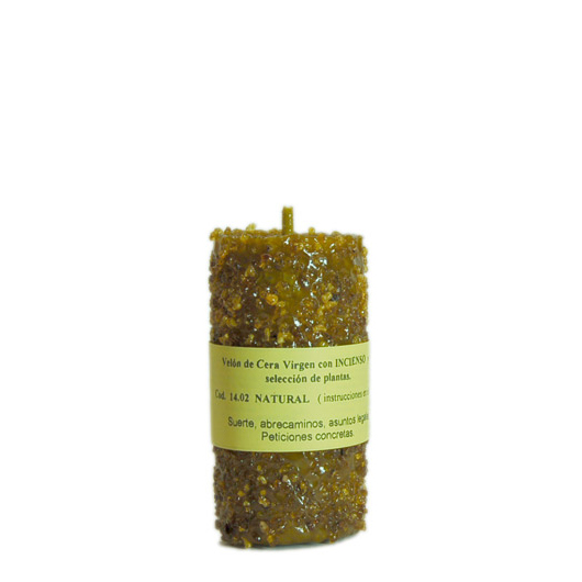 CANDLE INCENSE natural