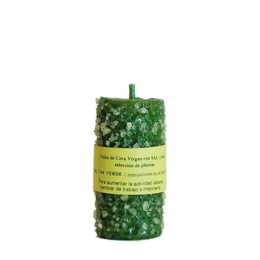 CANDLE SALT green beeswax