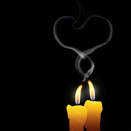 Rituales con velas para el día de San Valentín