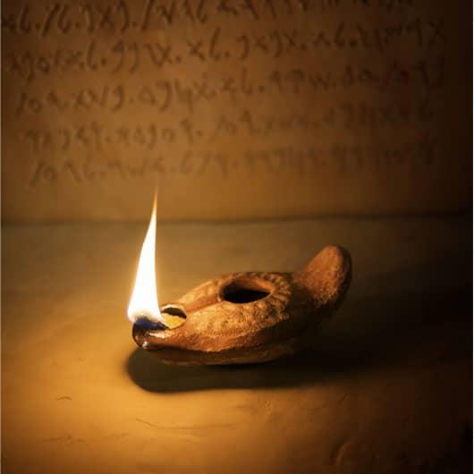 Velas rituales en la antigua Roma