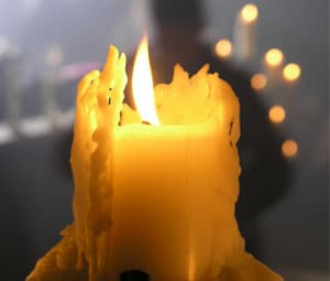 quemar velas