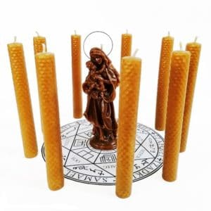Virgin Wax Candles
