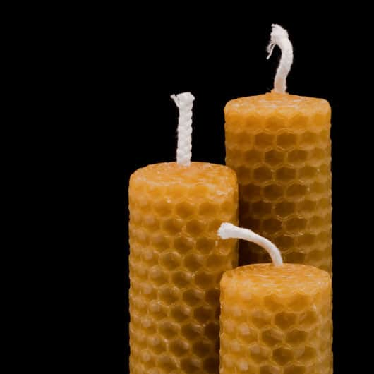 BEESWAX CANDLES FOR ESOTERIC RITUALS