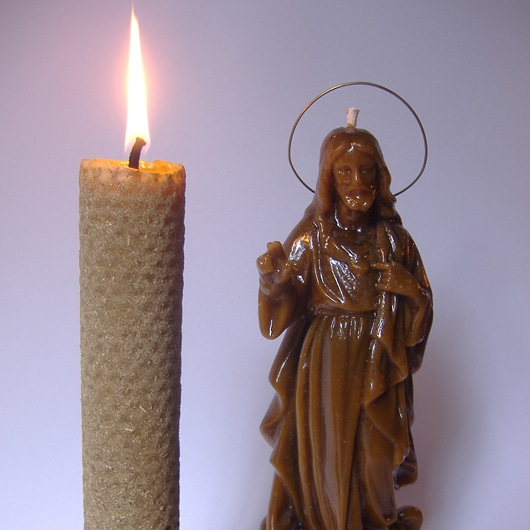 PRAYERS WITH CANDLES OF SAINTS
