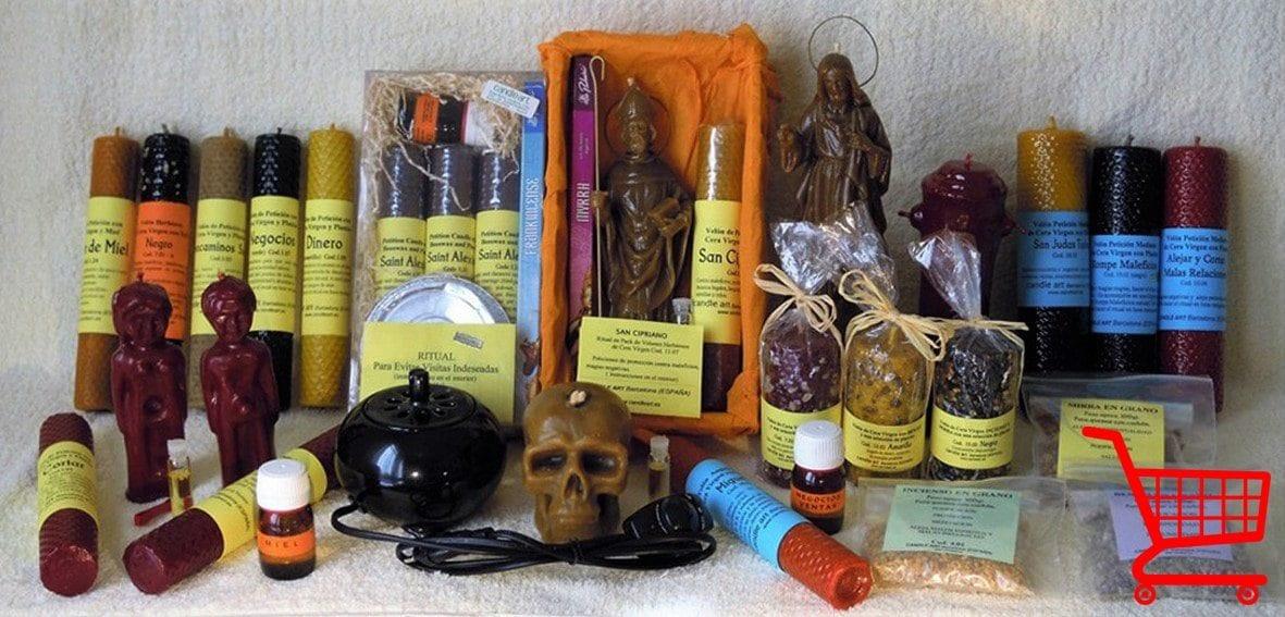 velas esotericas candle art