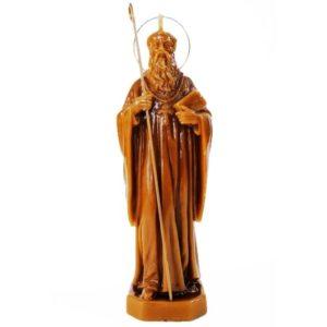 BOUGIE SAINT BENOÎT en cire vierge. Exorcisme, éloigner les personnes non désirées, contre les attaques du mal, aide à la guérison, indulgence lors